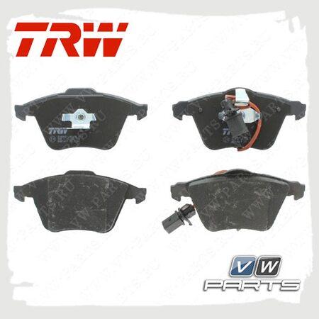 Колодки тормозные передние Trw GDB1617