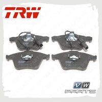 Колодки тормозные передние Trw GDB1659