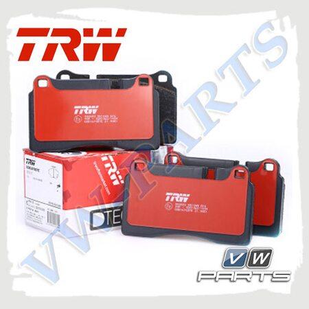 Колодки тормозные передние Trw GDB1670DTE
