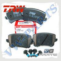 Колодки тормозные задние Trw GDB1763