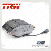 Колодки тормозные передние Trw GDB1956