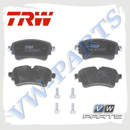Колодки тормозные задние TRW GDB2132