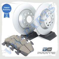 Комплект задних тормозных дисков с колодками VAG Economy JZW698601BB
