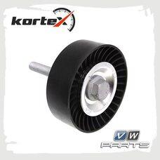 Ролик обводной ремня генератора KORTEX KTP1058