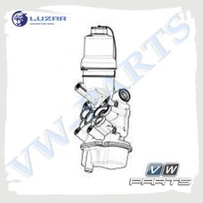 Кронштейн масляного фильтра LUZAR LBP1810