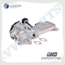 Радиатор системы циркуляции ОГ LUZAR LREG1801