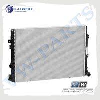 Радиатор охлаждения двигателя LUZAR LRc18N5