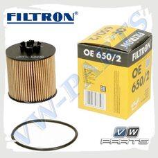 Фильтр масляный Filtron OE650/2