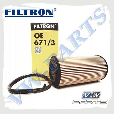 Фильтр масляный Filtron OE671/3