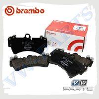 Колодки тормозные задние Brembo P65027