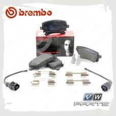Колодки тормозные задние Brembo P85083