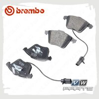 Колодки тормозные передние Brembo P85084