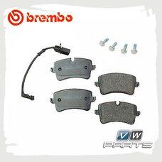 Колодки тормозные задние Brembo P85118