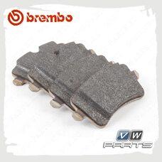 Колодки тормозные задние BremboP85120