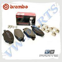 Колодки тормозные передние Brembo P85121