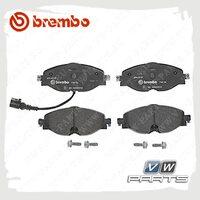 Колодки тормозные передние BremboP85126