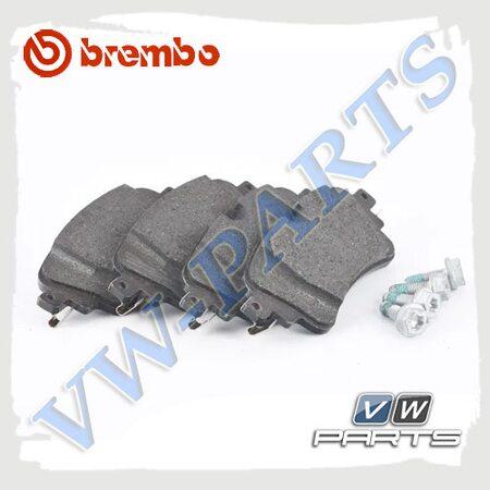 Колодки тормозные задние Brembo P85154