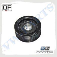 Ролик обводной ремня генератора QUATTRO FRENI QF31P00026