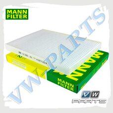 Фильтр салона (бумажный) Mann CU2882