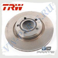 Диск тормозной передний TRW DF2806