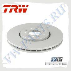 Диск тормозной передний Trw DF4027