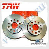 Диск тормозной задний Trw DF4271
