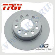 Диск тормозной задний TRW DF4276
