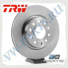 Диск тормозной передний Trw DF4294