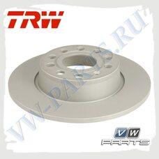 Диск тормозной задний Trw DF7911