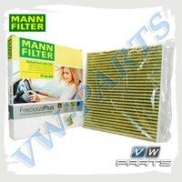 Фильтр салона антиаллергенный (угольный) Mann FP26009