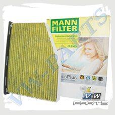 Фильтр салона (антиаллергенный) Mann FP2939