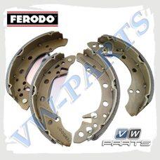 Колодки тормозные барабанные задние Ferodo FSB408