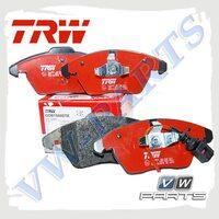 Колодки тормозные передние Trw GDB1550DTE