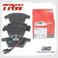 Колодки тормозные передние Trw GDB1555