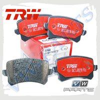 Колодки тормозные задние Trw GDB1763DTE