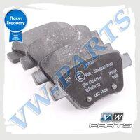 Колодки тормозные задние VAG Economy JZW698451Q