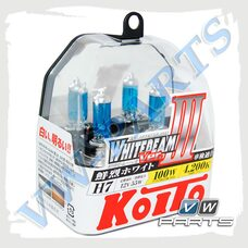 Лампы H7 галогеновые 12V/55W Koito whitebeam P0755W