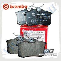 Колодки тормозные задние Brembo P85020