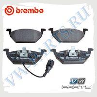Колодки тормозные передние Brembo P85072