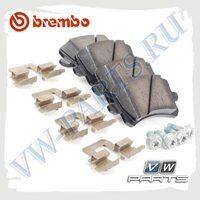 Колодки тормозные задние Brembo P85109