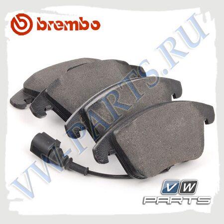 Колодки тормозные передние Brembo P85112