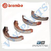 Колодки тормозные барабанные задние Brembo S85516