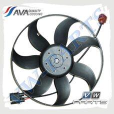 Вентилятор системы охлаждения двигателя AVA VW7534