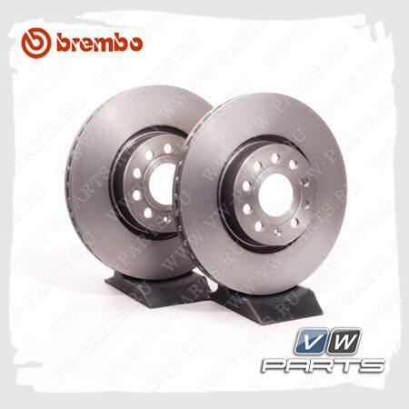 Диск тормозной передний Brembo 09.9772.11