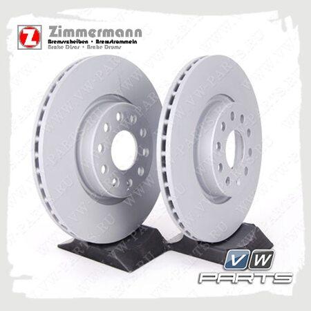 Диск тормозной передний Zimmermann 100.3300.20