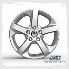 Диск колеса R16 PROXIMA VAG 1Z0071494B