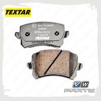 Колодки тормозные задние Textar 2448301