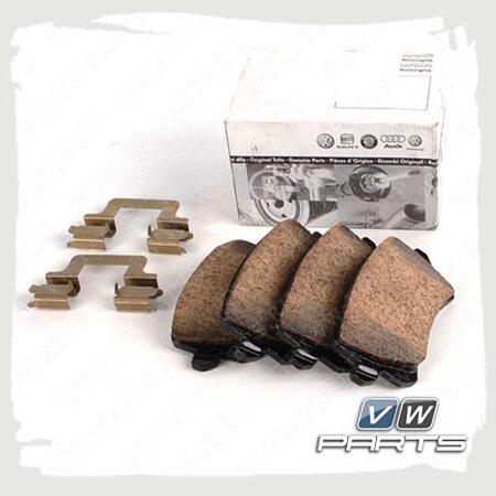 Колодки тормозные задние VAG 3C0698451C