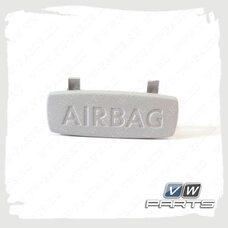 Заглушка стойки с надписью AirBag VAG 5G0853437Y20