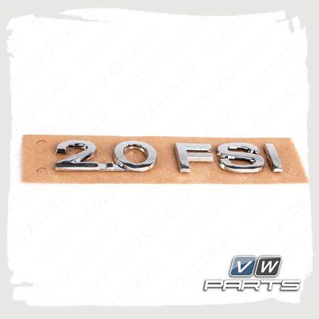 Надпись 2.0 FSI VAG 3C0853675A739